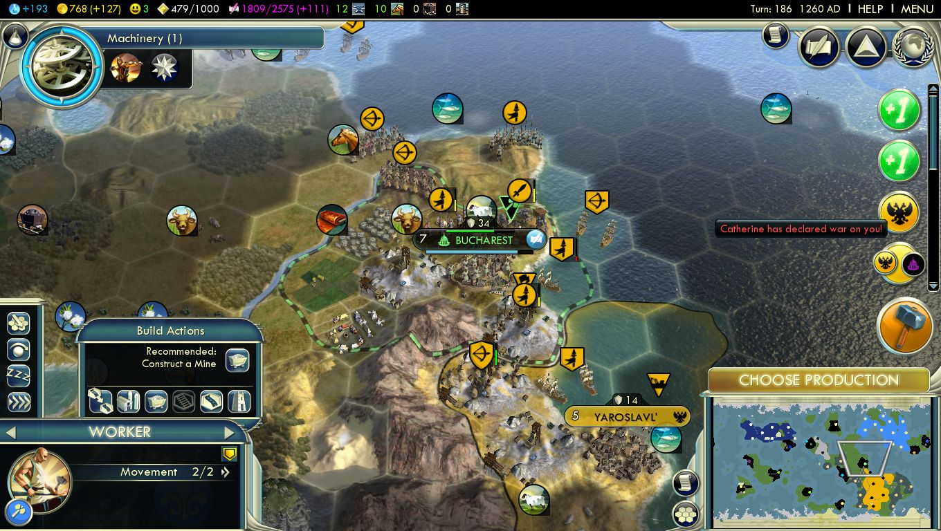 how to get more happiness in civ 5
