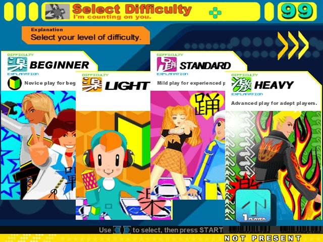 Resultado de imagen para ddr difficulty levels